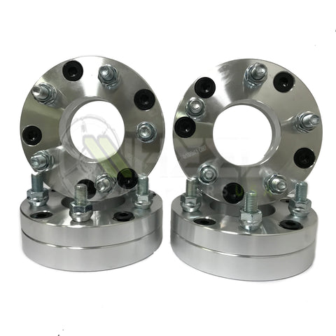 "4x100 to 5x100 Wheel Adapters 1.75"" Inch Thick 12x1.5 Studs Use 5x100 Wheels on 4x100 Car"