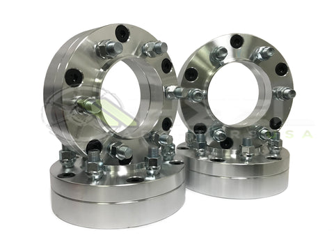 5x150 To 6x135 Hub and Wheel Centric Wheel Adapters 14x1.5 | Use 6 Lug Ford Wheels On 5 Lug Toyota Tundra Trucks | 2 Inch