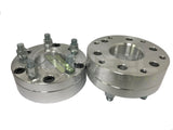 "Wheel Adapters 6X135 To 5X5 | Use 5 Lug Wheels On 6 Lug Trucks |  2"" Thick 14X2 Studs"