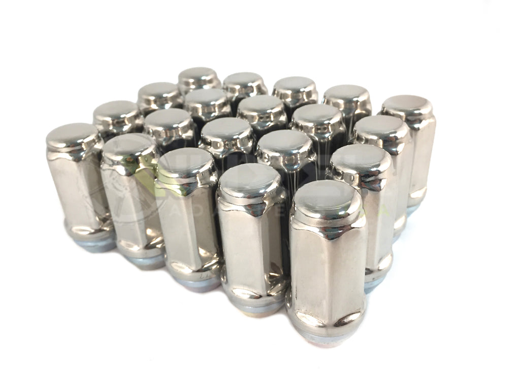 "20x Stainless Steel Lug Nuts 2"" Inch Tall- Perfect For Boat Trailer Kodiak and Trailer Wheels Rims!"