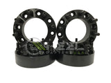 (4) 8x180 Hub Centric Wheel Adapter Spacers 14x1.5 Thread For 2011 & Newer Chevy Silverado 2500 3500 HD GMC Sierra Trucks