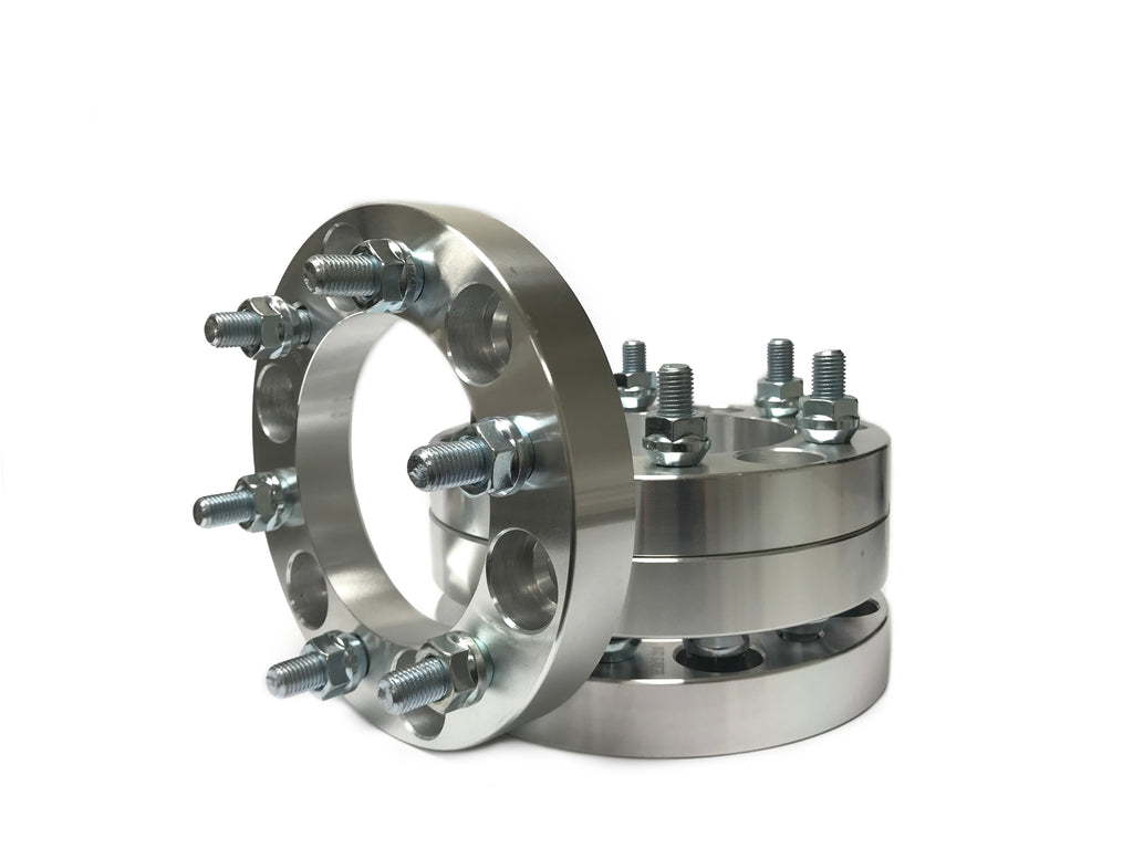 6x5 to 6x5.5 Wheel Adapters For Chevy Trailblazer Envoy SSR Bravada 1.25 Inch Hub Centric also known as 6x127 to 6x139.7