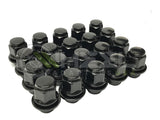 20 Infiniti OEM Black Factory Mag Style Lug Nuts 12x1.25 | For G35 G37 M35 Q50 Q60 FX