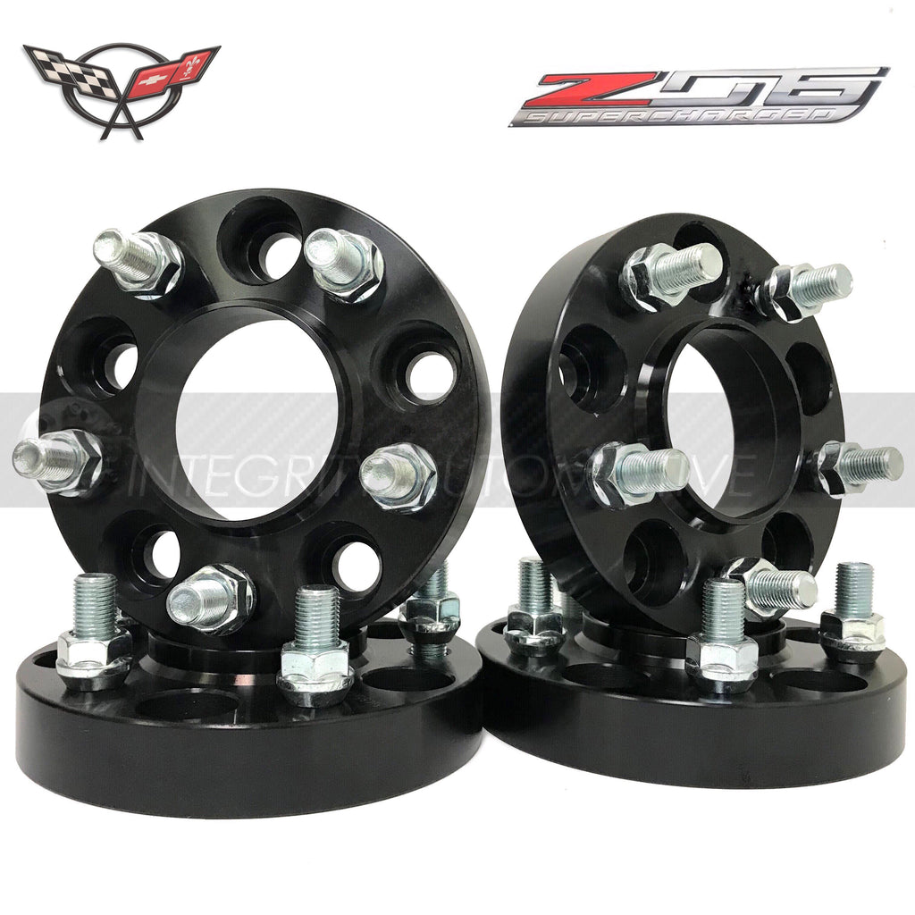 (4) 5X4 75 Chevy Camaro Corvette S10 Hub Centric Wheel Spacers Adapters  5X120 15mm Thick 12x1 5 Studs 70 30