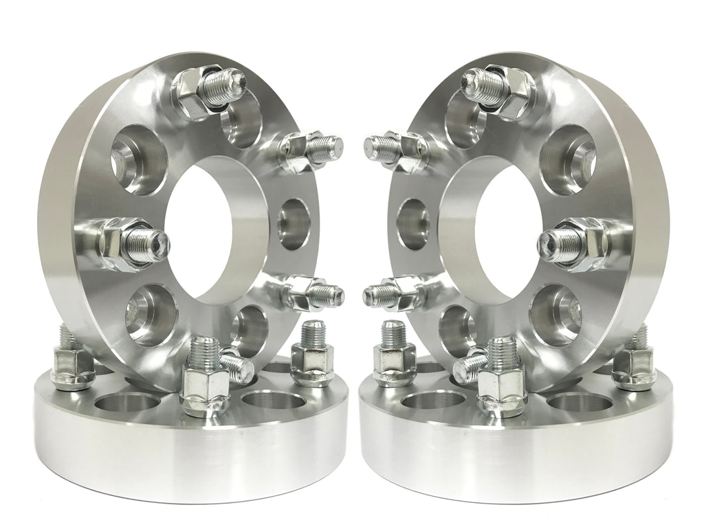 4 Wheel Spacers Adapters | 1.25 Inch | 5X135 To 5X4.5 F150 Expedition Navigator