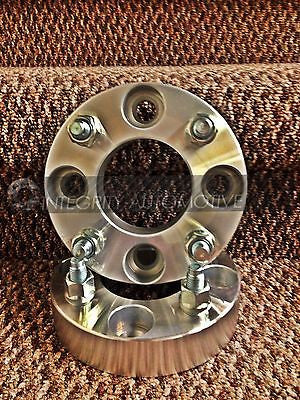 "2 Wheel Spacers Adapters | 4X100 To 4 X 100 | 1"" Thick 