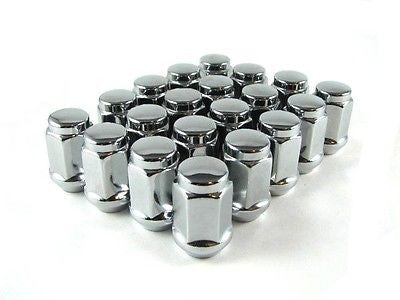 "20 X Bulge Acorn Lug Nuts 1/2""X20 