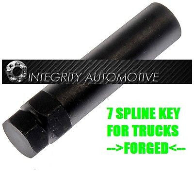 50X 7 Spline Key For Chrome Spline Lug Nuts Dodge Ford | Chevy | Cadillac Trucks - Wheel Adapters USA - 1