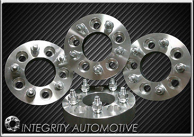 "4 Ford Wheel Adapters Spacers 5X108 To 5X114.3 1"" Inch Thick 