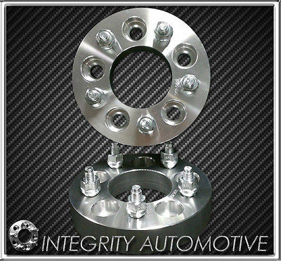 "2 WHEEL ADAPTERS 5X4.5 TO 5X5 1.25"" - ADAPTS JEEP JK WHEELS ON TJ YJ KK SJ XJ MJ - Wheel Adapters USA"