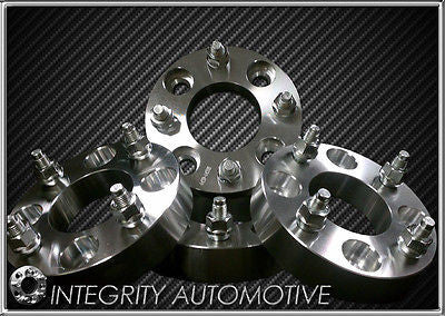 4 Wheel Spacers Adapters | 4X100 To 4 X 100 | 1.25 Thick | 4 Lug | 12X1.5 | 32Mm - Wheel Adapters USA - 1