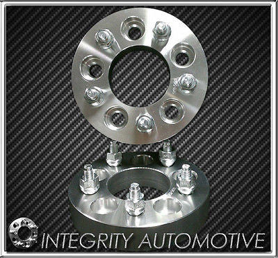 "2 WHEEL ADAPTERS | 5x4.5 to 5x5 | 2 INCH THICK | 1/2"" INCH STUDS JEEP WRANGLER - Wheel Adapters USA"