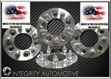 4 Wheel Spacers Adapters Usa Made 1.5 Inch | 5X4.75 Chevy Camaro, Corvette, S10 - Wheel Adapters USA - 1
