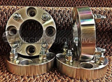 "2 Wheel Spacers Adapters | 4X100 To 4X4.50 | 1.25"" Thick 