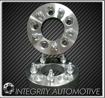 2 Jeep Wheel Spacers Adapters 5x5.5 For All 1946-1985 Jeep CJ | 1/2x20 Studs 108mm Center Bore