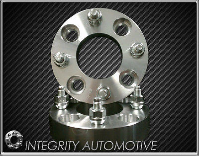 4 Wheel Spacers Adapters | 4X100 To 4 X 100 | 1.25 Thick | 4 Lug | 12X1.5 | 32Mm - Wheel Adapters USA - 2