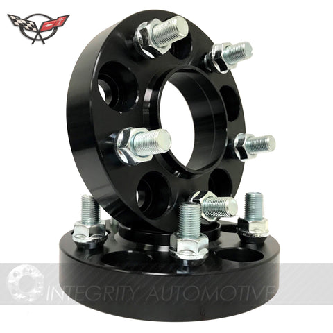 (2) Chevy Camaro Hub Centric Wheel Spacers Adapters 5X120 20mm Thick 14x1.5 Studs 66.9 2010-2020