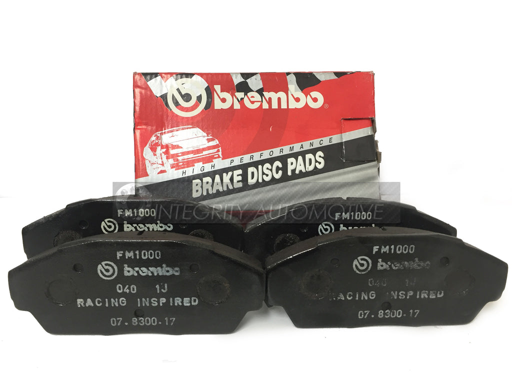 4 Honda Civic Front Brake Pads Brembo | Fits Civic Sedan 90-93 Front Calipers