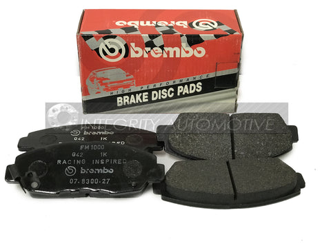 4 Honda Accord Front Brake Pads Brembo | Fits 90-97 Honda Accord Front Calipers