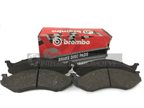 4 Jeep Front Brake Pads Brembo | Fits Most Jeep 90-98 Front Calipers | ZJ WJ MJ