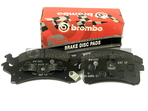 4 Pontiac Grand AM Front Brake Pads Brembo | Fits Grand AM 90-95 Front Calipers