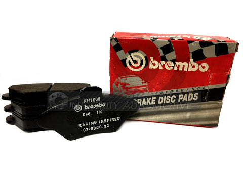 4 Brembo Mustang Front Brake Pads | Fits All 1994-2000 Mustang GT Front Calipers