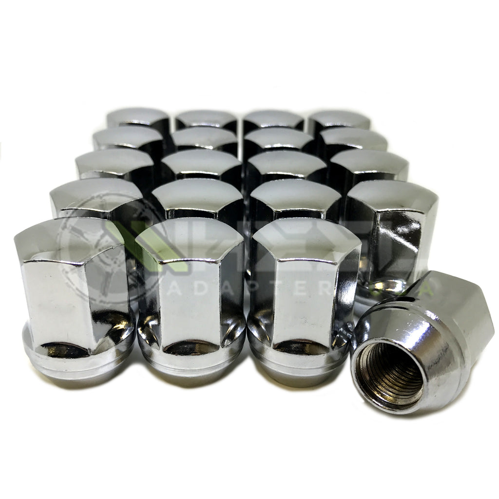 Buyer Needs to Review The spec 20pcs 1.87 Chrome 14mm X 1.50 Wheel Lug Nuts fit 2001 GMC Sierra 1500 May Fit OEM Rims