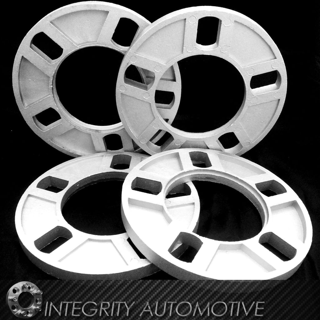 5 LUG 1/2 INCH WHEEL SPACERS 12MM | FITS 5X108 | 5X110 | 5X112 | 5X120.7 | 5X130 - Wheel Adapters USA - 1