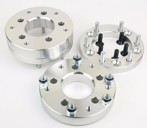 "6X5.5 TO 5X4.5 WHEEL ADAPTERS SPACERS | USE 5 LUG WHEELS ON 6 LUG TOYOTA TRUCK 2"" THICK 12X1.5"