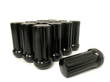 32 BLACK SPLINE LUG NUTS 14X1.5 | FITS 8 LUG CHEVY, GMC & RAM AFTERMARKET WHEELS