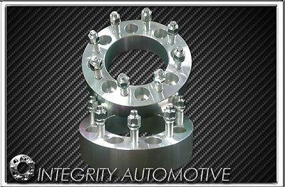 "2 Chevy & Gmc 8X6.5 Wheel Spacers Adapters Fits Most 8 Lug 1.5"" Inch Thick 14X1.5"