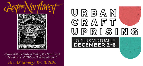 Miss craft fairs?  Join the virtual holiday fun!