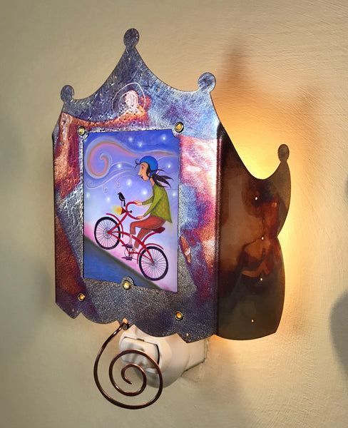 Bicycle Ride Luminette