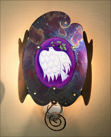 Dove of Peace Luminette