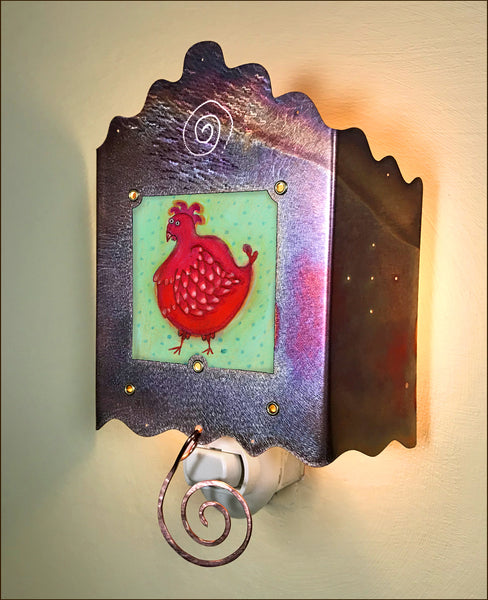 Little Red Hen Luminette