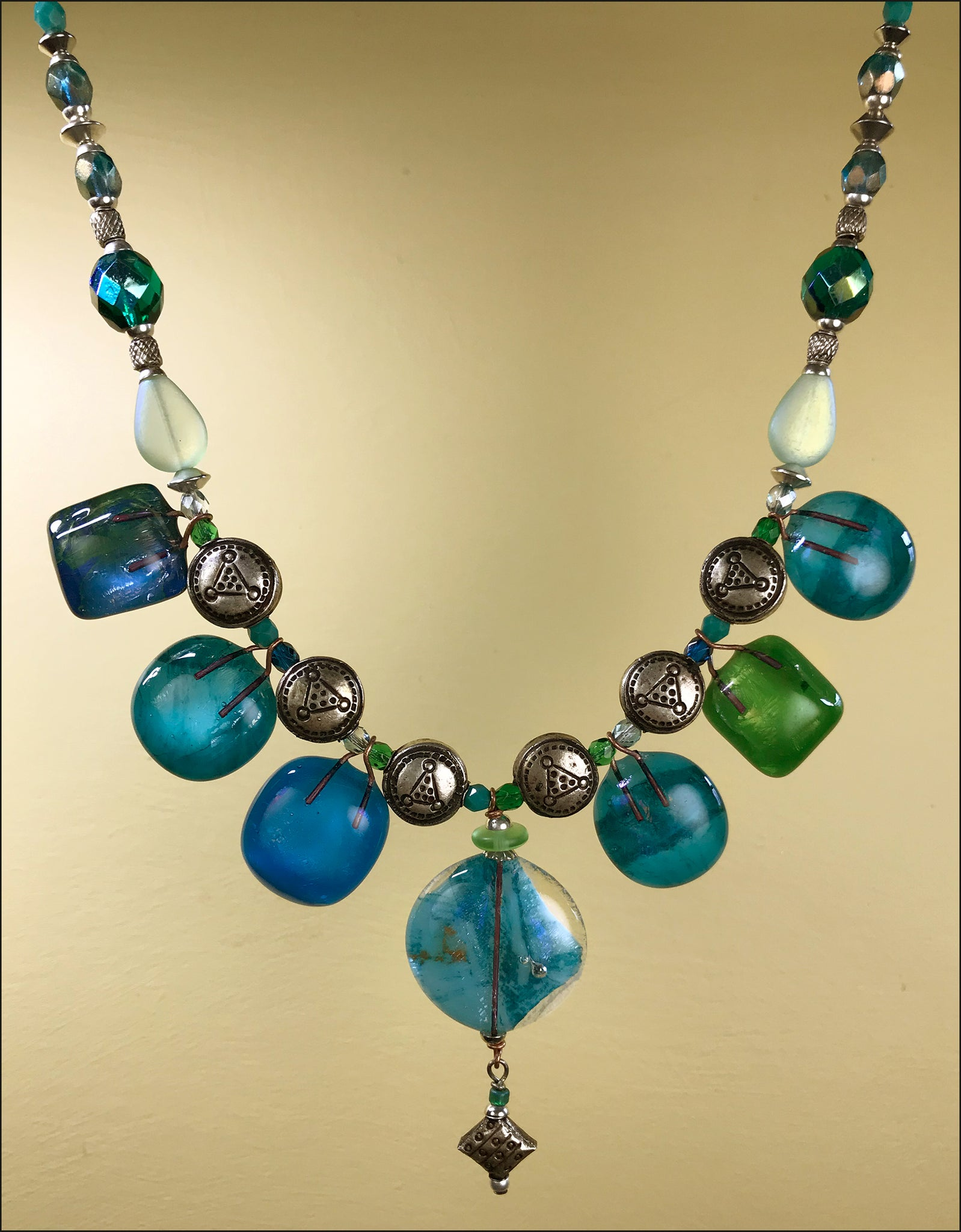 Sea Baubble necklace