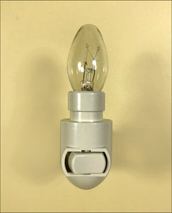 Nightlight part: replacement regular fixture with bulb