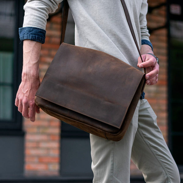Messenger Leather Men's Bag