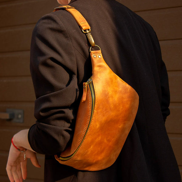 Jamaica Leather Bum Bag