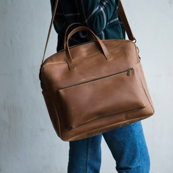Traveler Leather Bag