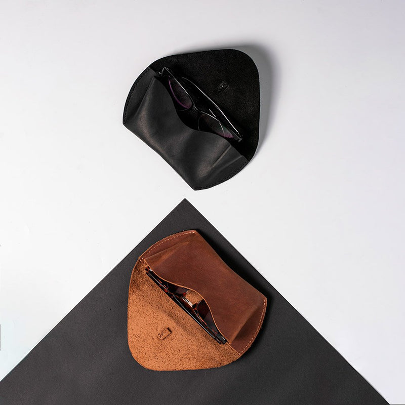 Cake Leather Eyeglass Case