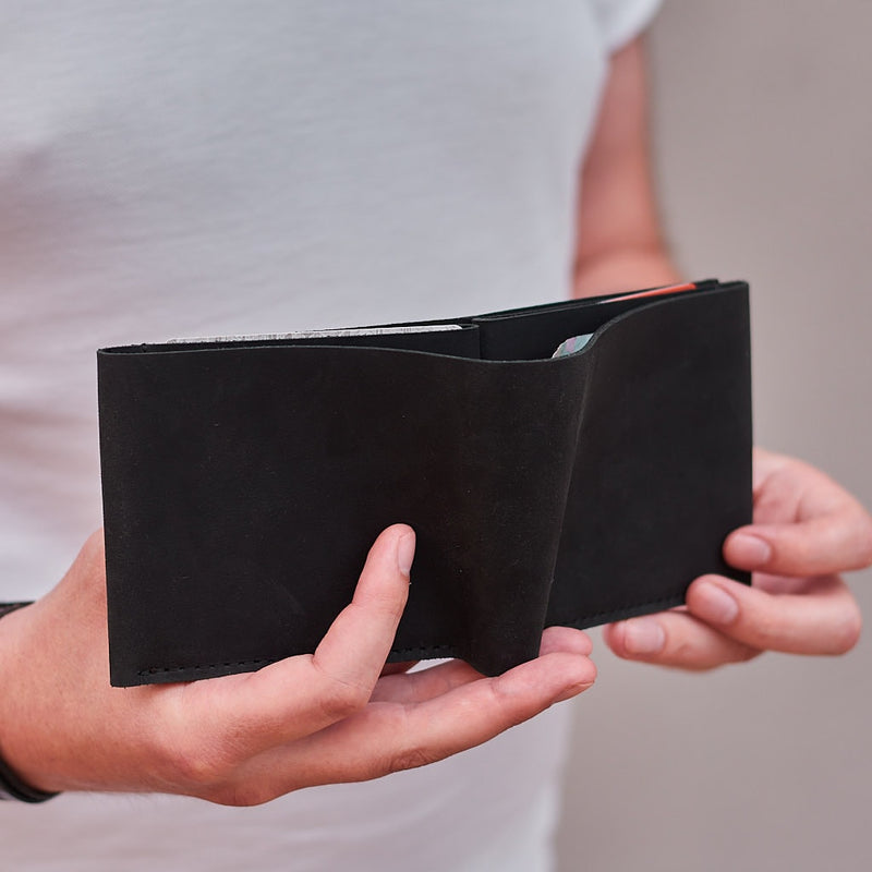 Fold Leather Wallet