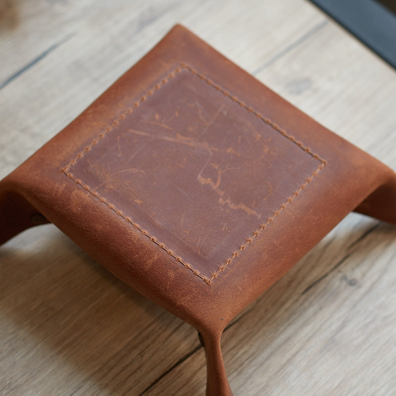 Texas Leather Tray