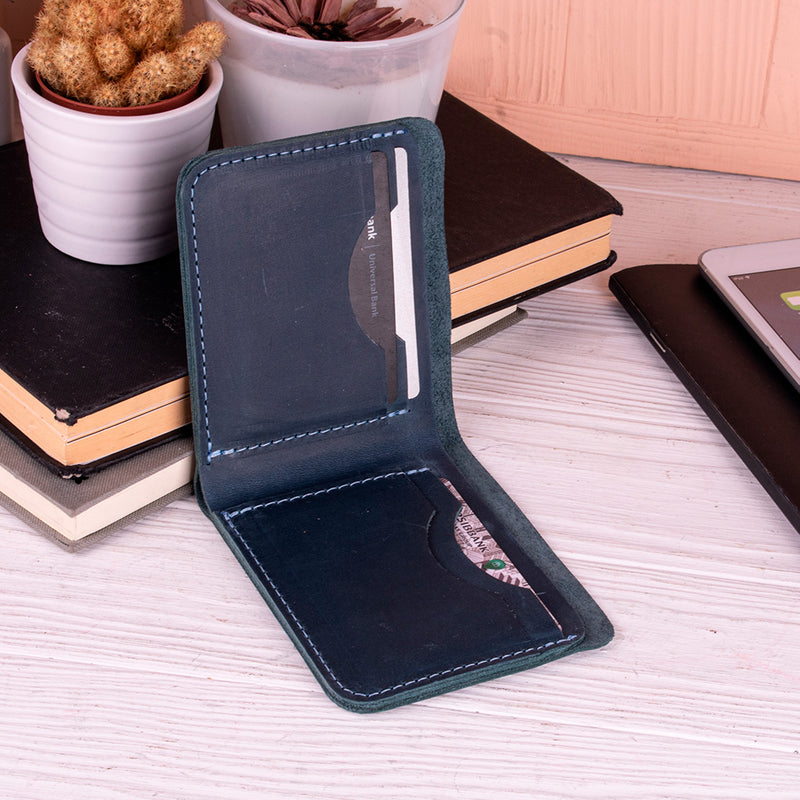 Sky Leather Wallet