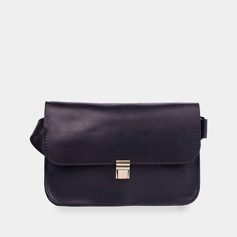 Click Leather Bum Bag