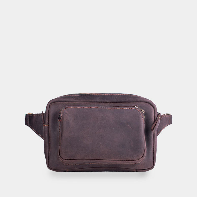 Couple Leather Bum Bag