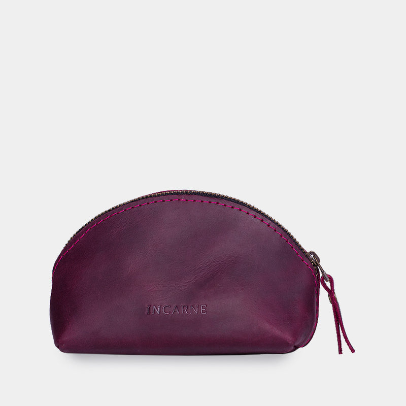 Hill Leather Cosmetic Bag