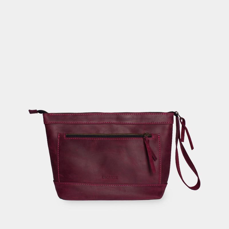 Format Leather Makeup Bag