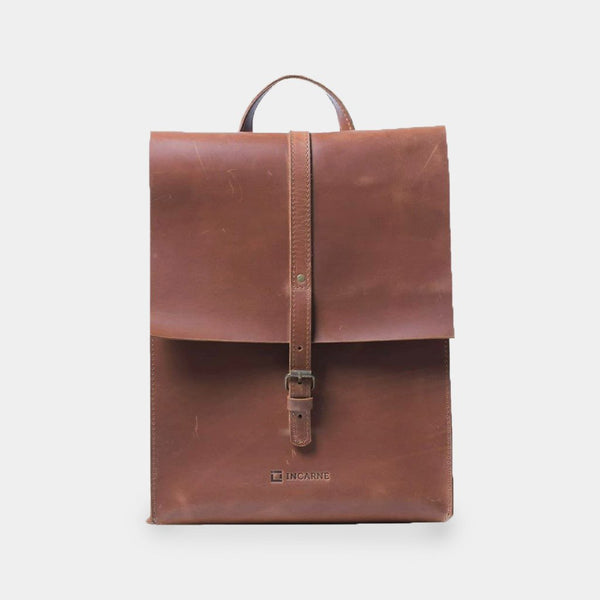 Gloria Leather Backpack