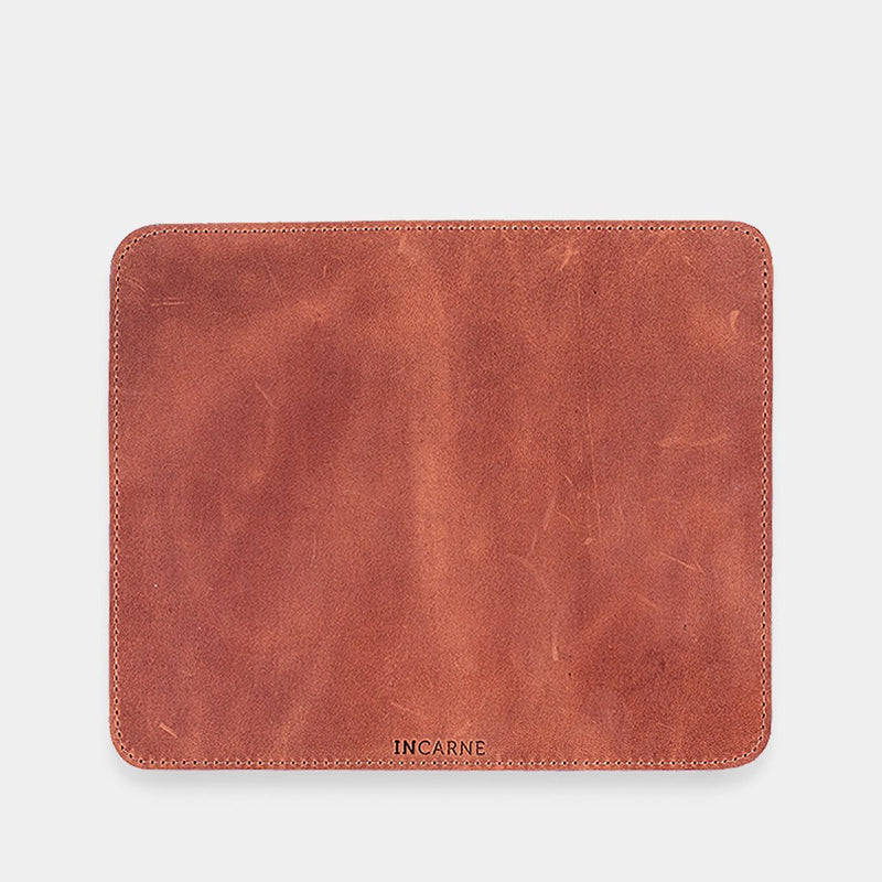 Word Leather Mousepad
